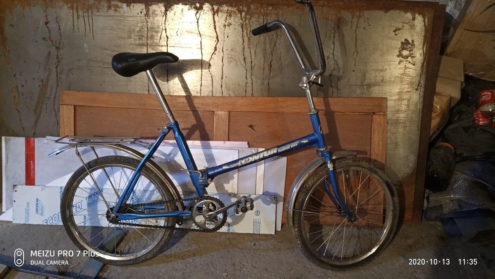 Велосипед складной Kontur.