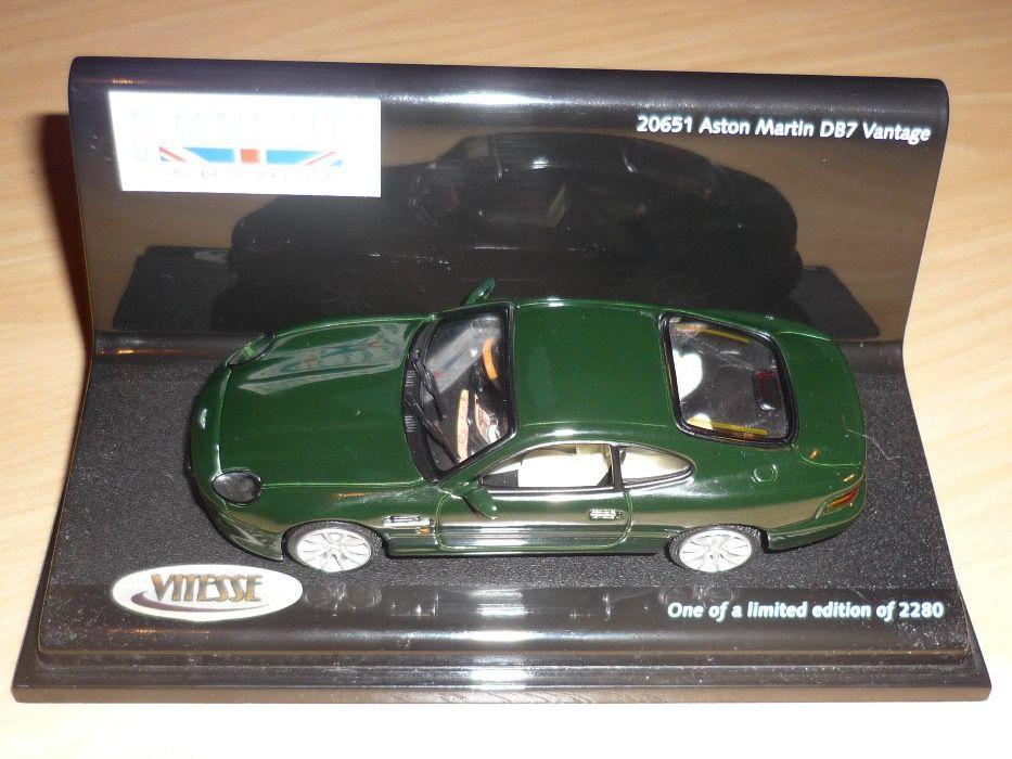 Miniatura da Vitesse edição limitada Aston Martin DB7 Vantage esc1/43