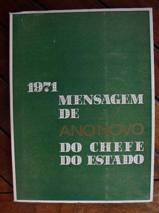 Mensagem de Ano Novo do Chefe do Estado - 1971