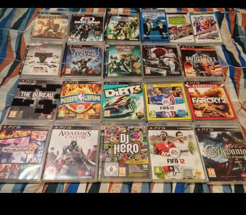 Jogos PS3, PSP e filmes UMD - vendo / troco em separado