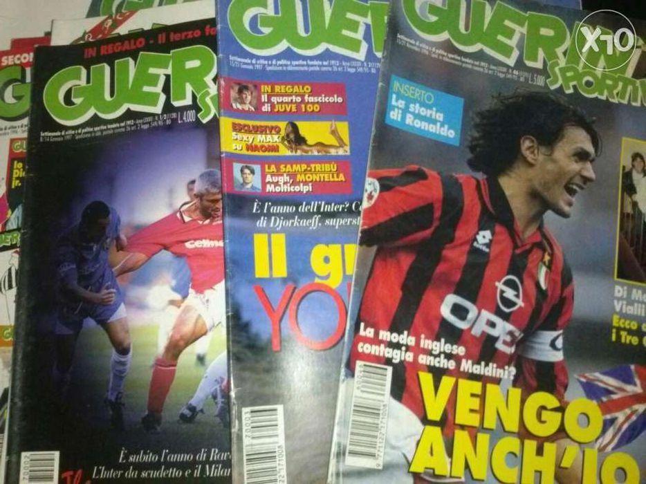 """Revistas """"guerin sportivo"""""""