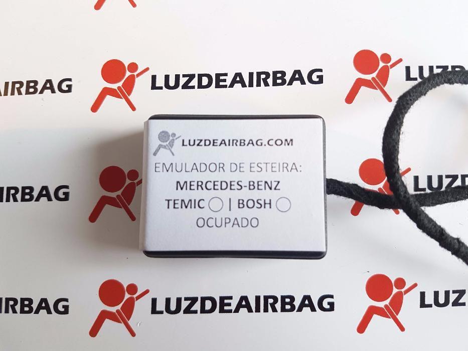 Mercedes TEMIC BOSH Emulador Simulador Esteira Banco Airbag Plug&PlaY