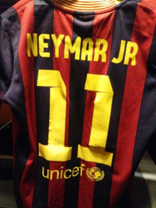 Camisola Futebol Neymar Jr (Barcelona)