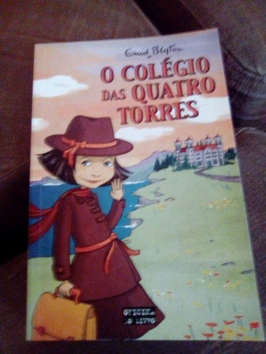 """Livros da coleção """" O Colégio das Quatro Torres"""" de Enid Blyton"""