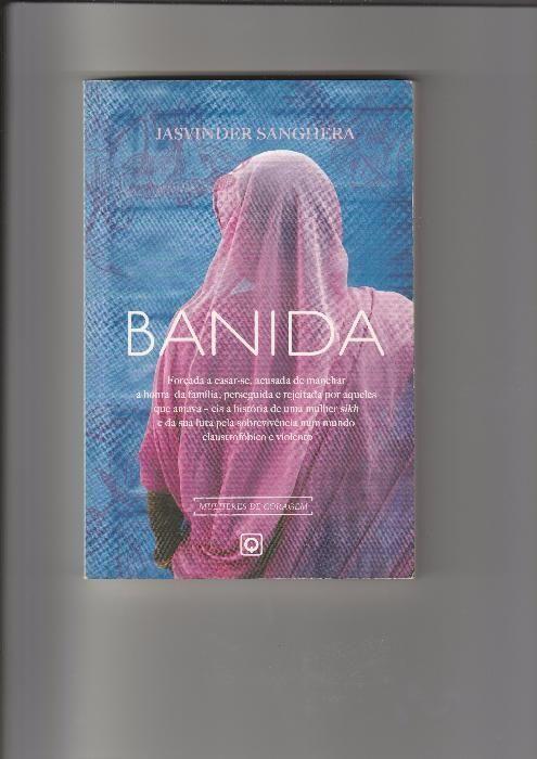 Livro «Banida», de Jasvinder Sanghera