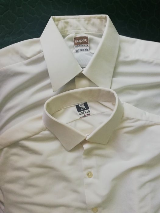Elegancka koszula męska z PRL 39 40 2 sztuki Piekary  GSFUj