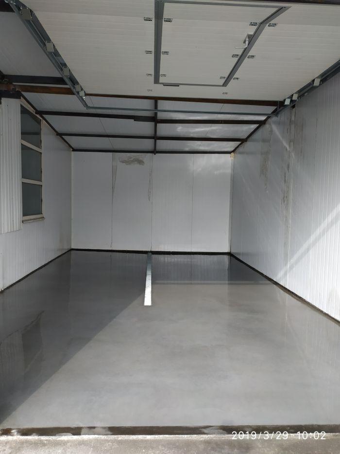 Бетон топинг со бетон