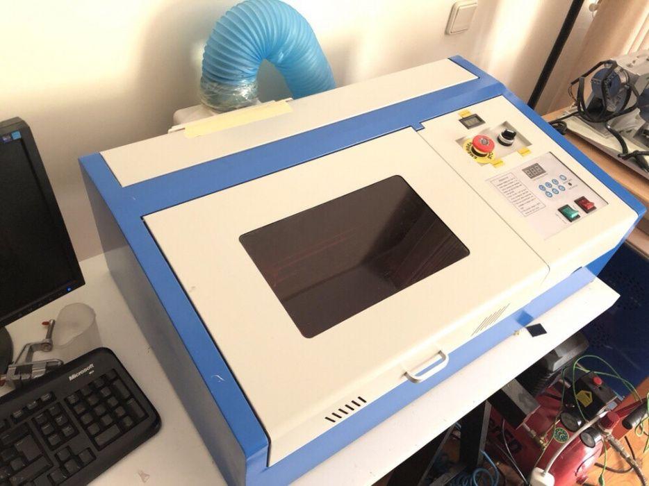 Máquina Gravador/Corte a Laser Co2 40w (NOVAS E FATURADAS) Lago - imagem 4