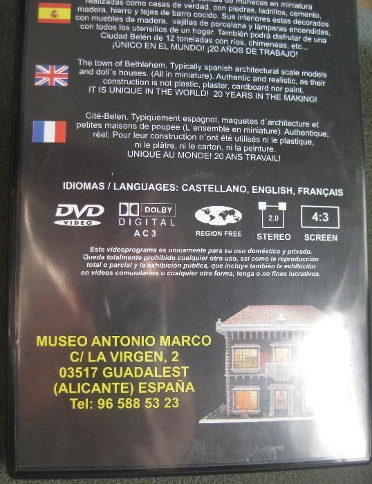 DVD Casas em Miniatura com pormenores - Museu Marco Antonio Bonfim - imagem 2