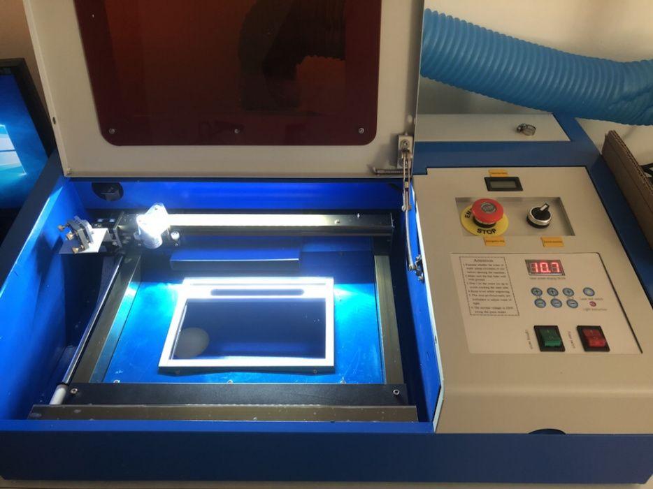 Máquina Gravador/Corte a Laser Co2 40w (NOVAS E FATURADAS) Lago - imagem 1