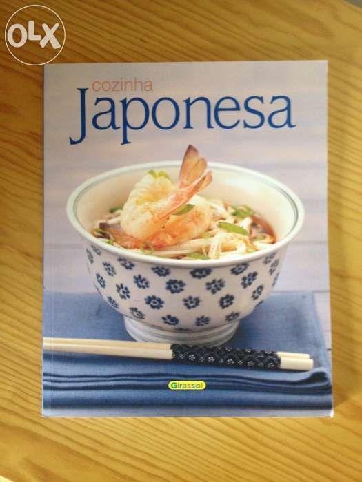 Livro Cozinha Japonesa