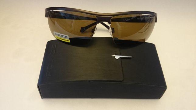Okulary przeciwsłoneczne męskie CERRUTI 1881 w etui. Sieradz
