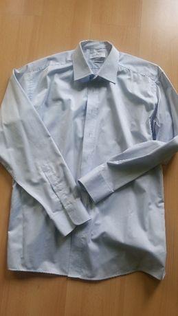 43, 176 182, L XL, koszula męska z kołnierzykiem, elegancka  zen85
