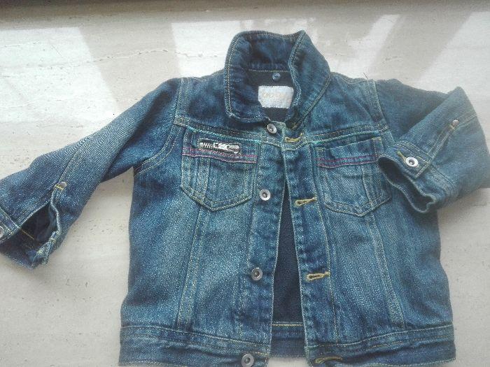 kurtka jeansowa-ocieplana-olx