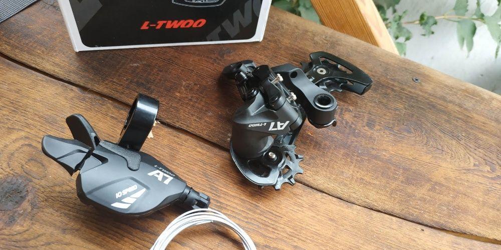 Задний переключатель 1*10 LTWOO A7 большие кассеты компаньел