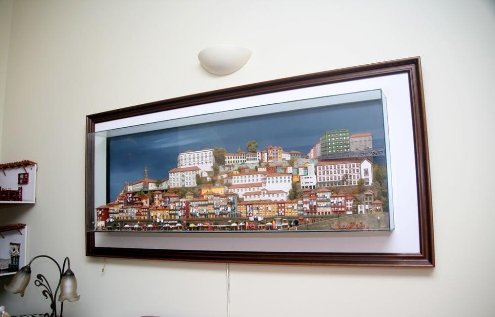 Ribeira do Porto miniatura gigante em 3D ! Cedofeita, Santo Ildefonso, Sé, Miragaia, São Nicolau E Vitória - imagem 2
