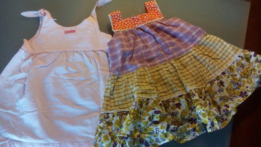 2 vestidos de menina Petit patapon Como novos!