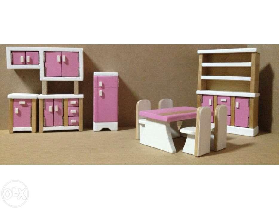 Cozinha miniatura artesanal