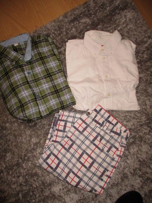 Conjunto camisas e calções 14/16 anos