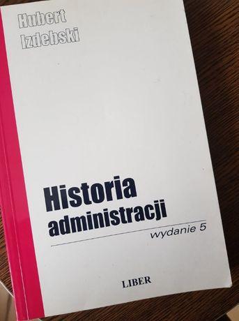 historia administracji hubert izdebski pdf