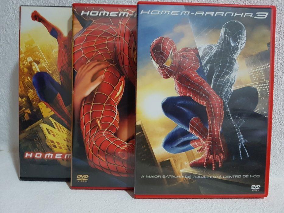 Colecção Homem-Aranha completa