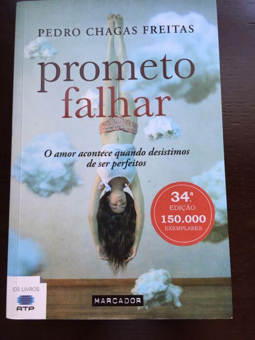 Livro Prometo Falhar - Pedro Chagas Freitas