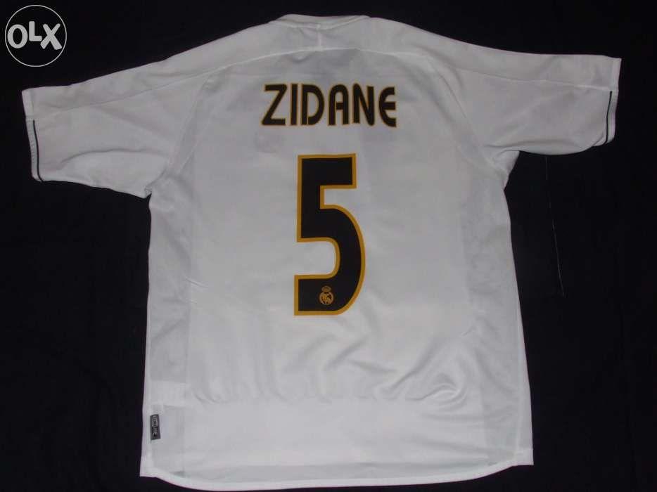 4472f1a54a Camisola real madrid (futebol) zidane - final copa del rey Ericeira -  imagem 2