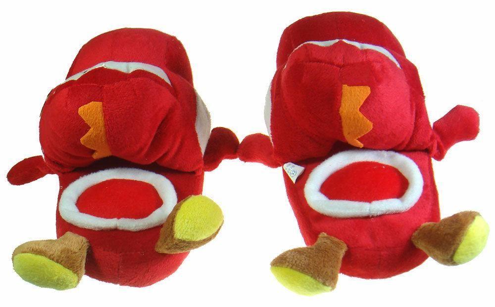 Chinelos criança Peluche Yoshi Nintendo Super Mario Brothers Braga - imagem 6