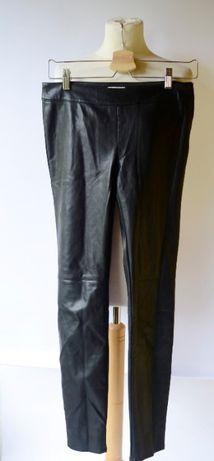 Spodnie rurki CUBUS zara imitacja skóry nowe 40 L Zdjęcie