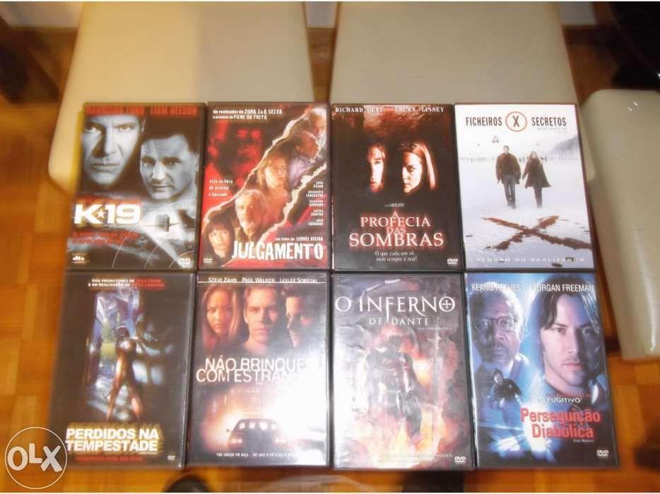 Vários filmes dvd novos e usados a preços fantásticos