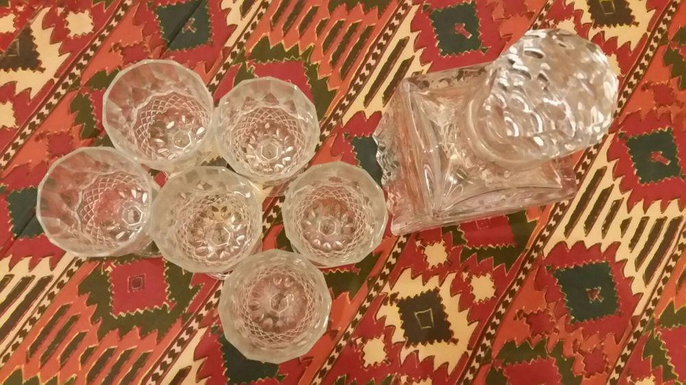 conjuntos de garrafas copos bomboneiras