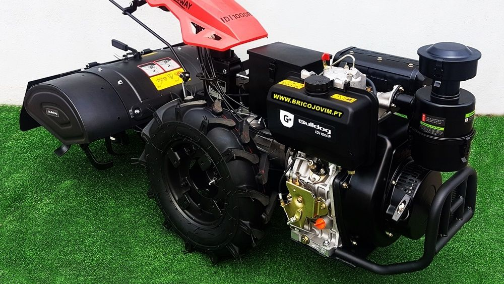 Motocultivadores Novos 10 Cv Diesel - Fresa 80cm - Motor Arranque Gondomar - imagem 7
