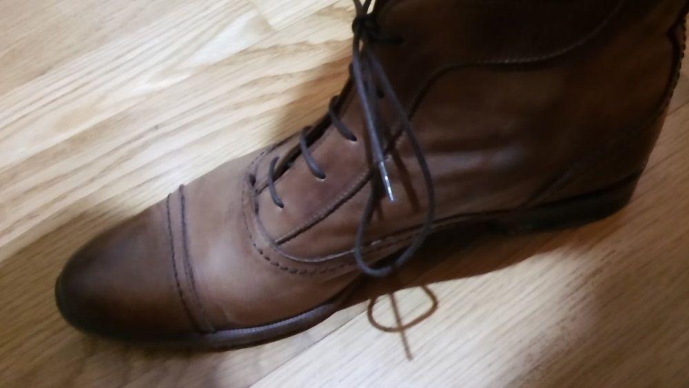 Sapatos camurça e pele Castanhos Cartaxo E Vale Da Pinta