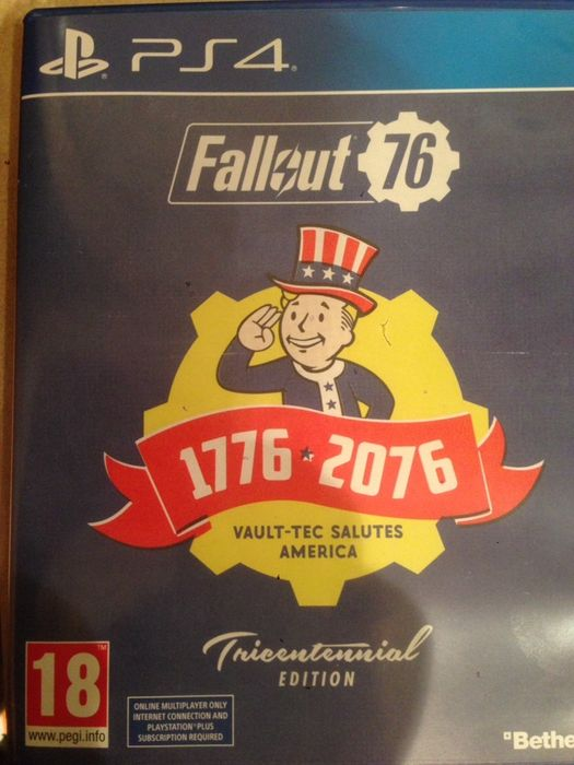 Fallout76 Ps4 Tricentennial edition