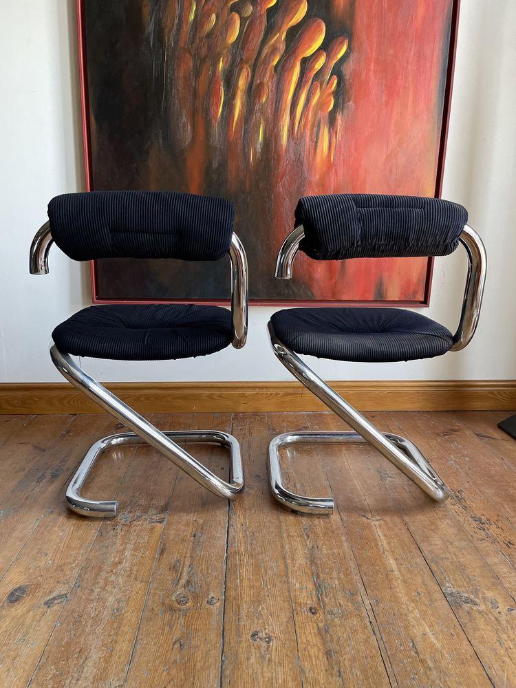 """*rezerwacja*Mid Century modern""""cobra chair"""" krzesło 1 z 2"""