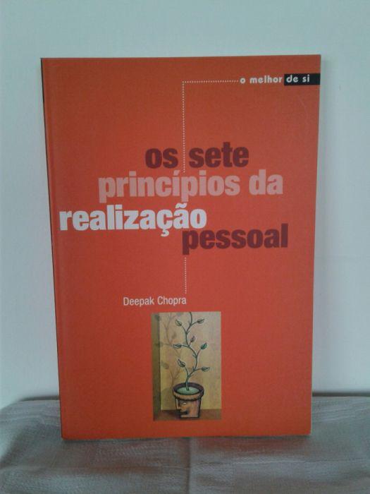 Livro Os Sete Principios da Realização Pessoal, Deepak Chopra
