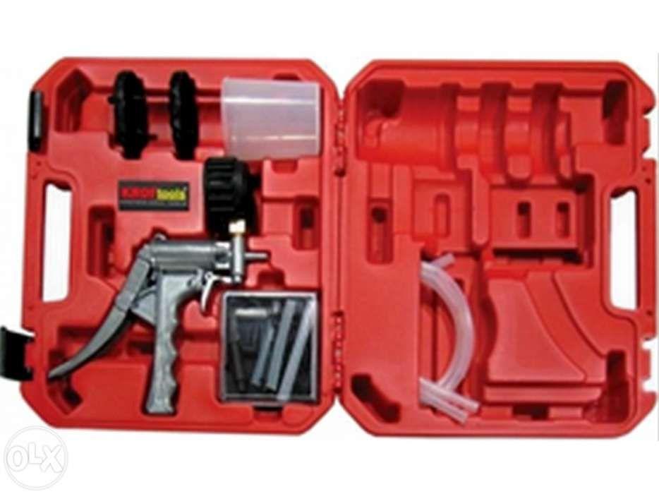 Bomba manual de vácuo metálica para Teste de válvulas e sangrador de t