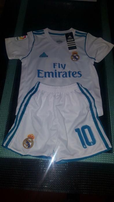 Equipamento Oficial Real Madrid Criança