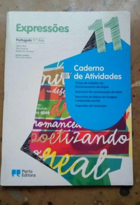 """Livro Português """"Expressões 11 ano"""" + caderno atividades Lamego (Almacave E Sé) - imagem 2"""