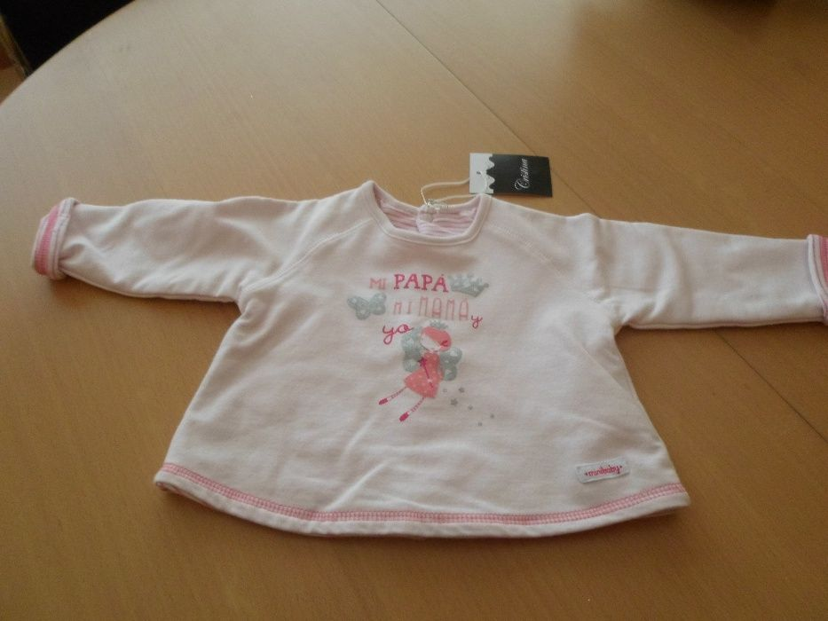 casaquinho para bébé novo com etiqueta