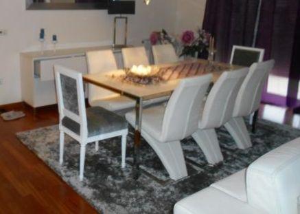 Cadeira branca em pele Glória E Vera Cruz • OLX Portugal