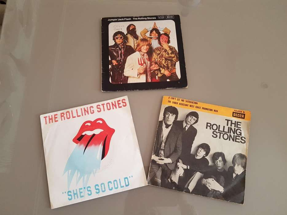2 single vinil The Rolling stones