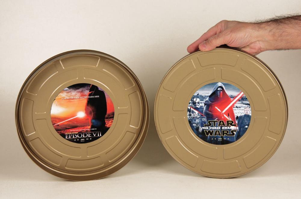 Star Wars Lata Promocional Sala Cinema estreia The Force Awakens