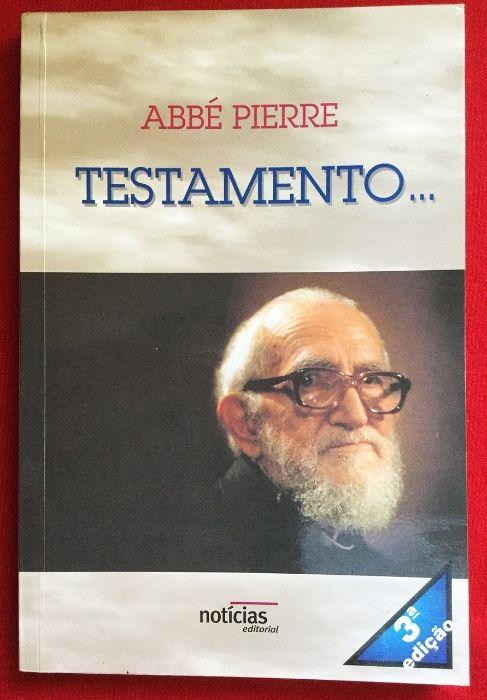 Abbé Pierre - Testamento - Editorial Notícias