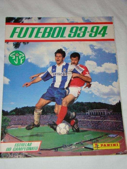Caderneta Panini Futebol 93-94 - Torres Vedras (São Pedro - Caderneta  Panini Futebol 49e7075b9d833