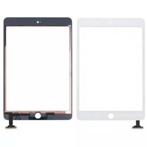 Touch screen para Apple iPad 1,2,3,4, Air 1, mini 1, 2 c botão e fita