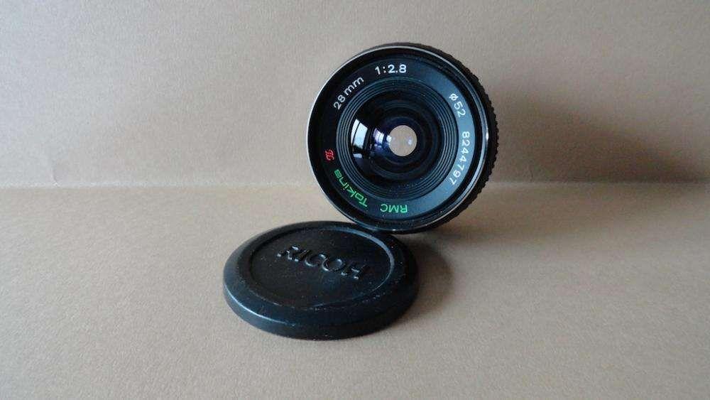 Lente OM Tokina 28mm/2.8