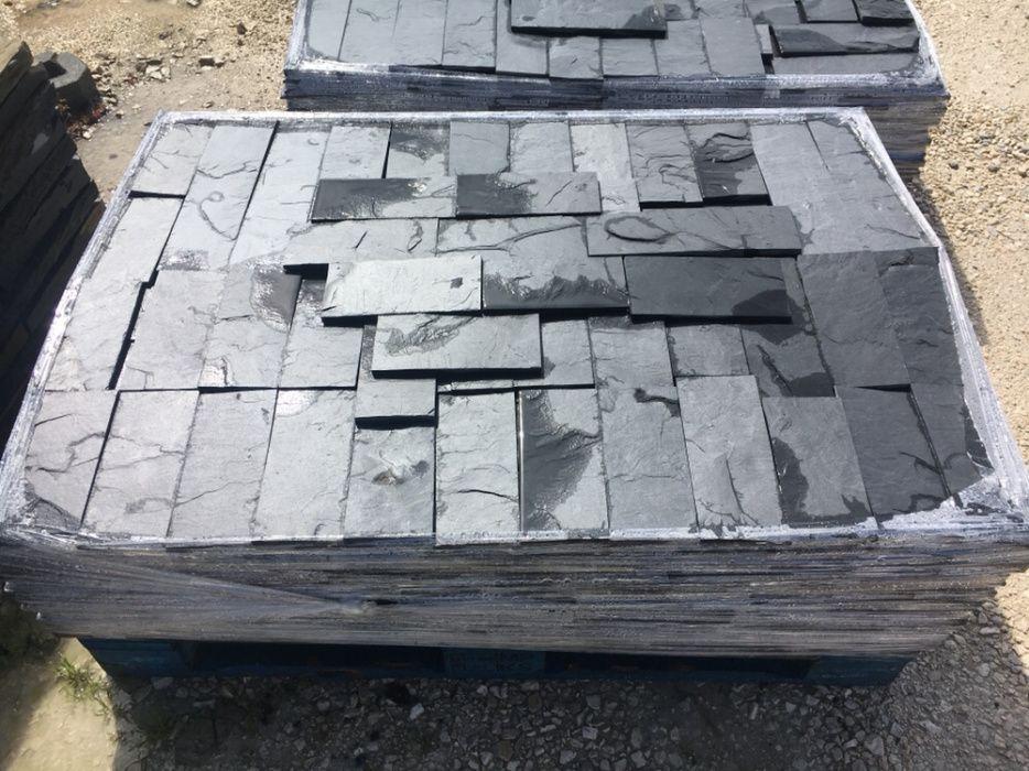 Tiras pedra xisto preto