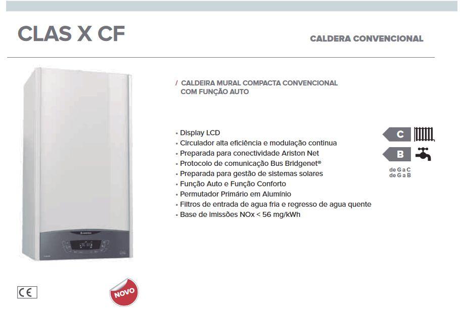 Ariston Clas X 24 CF - Caldeira Convencional c/ Instalação Vila Nova de Gaia - imagem 4