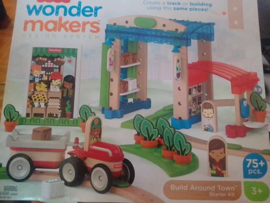 Konstruktor Fisher Price Wonder Makers Design System Build Around Town 700 Grn Igrushki Poltava Na Olx